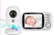V6 Wireless Video Color Baby Monitor 3.2 Inch High Resolution Day And Night Vision