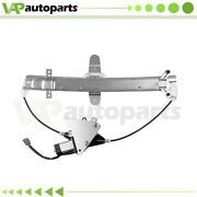 For 1998-2011 Lincoln Town Car Power Window Regulator Rear Left With Motor