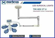 Led-surgical-ot-lights-ceiling--type-tmi-hex-ct-4 Wall Mounted Examination Light