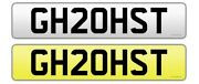 Private Number Plate Ghost Gh20hst Spooky Rolls Royce Ghoul Cool Spirit