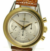 Universal Geneve Goldencompacts Chronograph 284.460 Hand-winding Menand039ss_510564