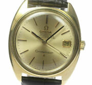 Omega Constellation K18yg Chronometer Cal561 Automatic Menand039s Watch_474363