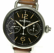 Bellandross Vintage One Push Chronograph Brww1-mp01 Automatic Menand039s Watch_507300