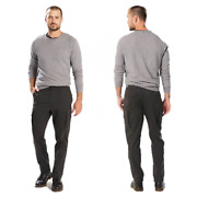 Slim Fit Tapered Leg Utility Cargo Men's Size 42x32 Pants Stretch Twill