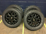 20 Xd825 Buck Black Wheels Fuel 32 At Tires Package 8x170 Ford Excursion F250