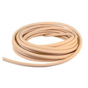 Firm High-temperature Beige Chemical Tube Inner Dia 3/8 Outer Dia 9/16 - 50 Ft