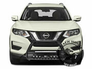 Black Horse Bull Nudge Bar Fits 14-20 Nissan Rogue Led Grille Guard Protector