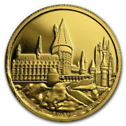 Niue - 2020 - 1/4 Oz Gold Proof Coin - Harry Potter - Hogwarts Castle