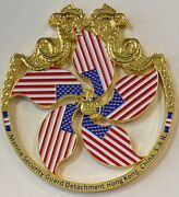 Msg Det Marine Security Guard Detachment Hong Kong China Challenge Coin