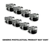 """Manley Stock 3.543"""" Stroke -23cc Dish Pistons 3.700 Bore For 1991+ Ford 4.6l"""
