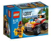 Lego 4427 City Fire Atv New In Sealed Box Free Shipping