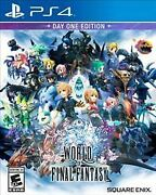 World Of Final Fantasy Day 1 One Edition Ps4 Playstation 4 Brand New