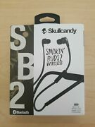 Brand New Skullcandy Smokinand039 Buds 2 Wireless Earbuds With In-line Mic And Remote