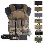 Emerson Lbx-4020 A2 Armatus Ii Slick Plate Carrier Armor Vest Airsoft Paintball