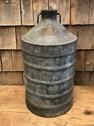Antique Original 1910-20andrsquos Standard Oil Ny Sexton Boston Can Canister Drum Jug
