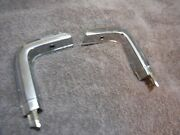 1978 To 1988 Elcamino Rear Bed Chrome Corners L/h R/h 3