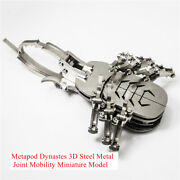 Metapod Dynastes 3d Steel Metal Joint Mobility Miniature Model Kits Puzzle Toy
