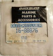 Nos New Old Stock Oem Mercury Quicksilver 16-88876 Double End Threaded Stud Nla