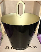 Champagne Ice Bucket Palmes D'or Black Pewter , Beautiful.