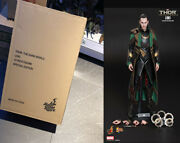 Hot Toys Thor The Dark World Loki 1/6th Scale Collectible Figure New In Stock
