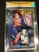 Cyblade Shi 1 Variant Cgc Ss 9.8 Signed By Billy Tucci 1st Witchblade