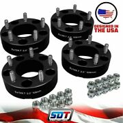 4 2 Wheel Spacers For 66-96 Ford F-150 Bronco 1994-2001 Dodge Ram 1500 5x5.5