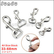 Dog Buckle Lobster Trigger Swivel Clasps Findings Keyring Hook Keychain Silver