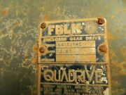 Falk 4415j14c Parts. Housing And High Speed Gear Set.