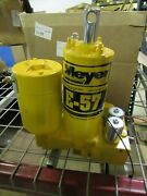 Meyer Snow Plow E57h E-57h Hydraulic Plow Pump - Sand Blasted Complete Rebuild