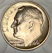1961-d Gorgeous Silver Roosevelt Dime Grading Nice Bu Free Shipping With 5 Items