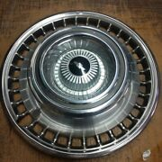 Vintage 1964 Chevrolet Impala Hubcap Wheelcover New Old Stock Set Of 4
