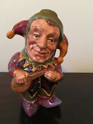 Genuine English Toby Jug The Jester