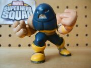 Marvel Super Hero Squad Rare Blue Charging Juggernaut From Collector's Pack 2