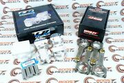 Cp-carrillo Pistons And Manley Rods For 97-01 Acura Integra Type-r 1.8l B18c5 Vtec