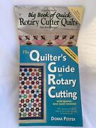 Rotary Cutter Quilt Guides Lot Of 2 Big Book Of Quick Rotary Cutter Quilts Guide