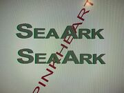 Sea Ark Seaark Boat Decal Stickers Graphic Logo Easy Cat Decal Boats 42andrdquo Usa