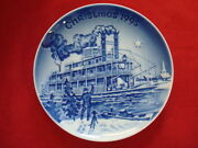1995 Bing And Grondahl Christmas In America Plate Christmas Eve On The Mississippi