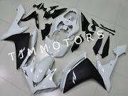 For Yzf R1 2007 2008 Abs Injection Mold Bodywork Fairing Kit Plastic Pearl White