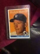 1958 Topps 150 Mickey Mantle Card