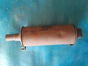 Complete Original Early Ford Model T Muffler With Cast Ends