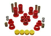 Energy Suspension Red Front End Control Arm Bushing For 99-07 Chevy Gmc Avalanch