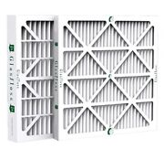 4 Inch Glasfloss Zl Merv 10 Pleated Air Filters For Ac And Furnace. Case Of 6