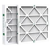 2 Inch Glasfloss Zl Merv 10 Pleated Air Filters For Ac And Furnace. Case Of 12