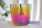 3rd Octave C Root Chakra Carved Alchemy Crystal Singing Bowl Or D E F G A B Note
