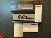 Marklin Spur Z Scale/gauge. D And Rg Andldquomogulandrdquo Steam Locomotive And Tender. Rare.