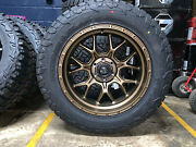 20x10 Fuel D671 Tech Bronz 33 At Wheel And Tire Package 5x5 Jeep Wrangler Jk Jl