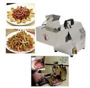 Commercial Meat Cutting Tenderizer 110v Commercial Meat Cutter Slicer 4.6mm
