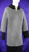 Chainmail Hauberk - 9 Mm Butted High Tensile Wire Rings Xxl Chainmail Shirt