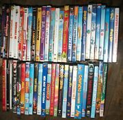Huge Lot Of 51 Dvd Kids Movies And Cartoons Some Vhtf