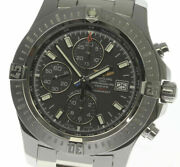 Breitling Colt Chronograph A13388 Black Dial Automatic Menand039s Watch_474257